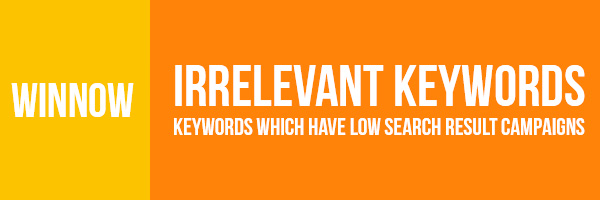 Remove Irrelevant Keywords